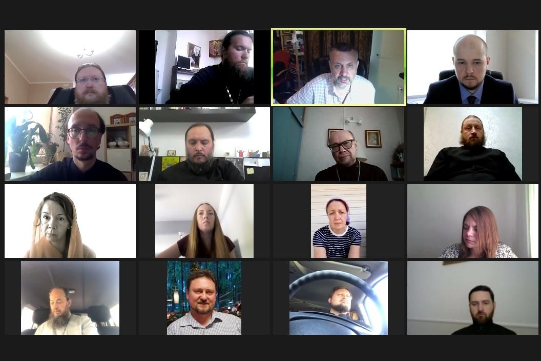 В.Р. Легойда провел онлайн-совещание с представителями епархий Северо-Западного федерального округа