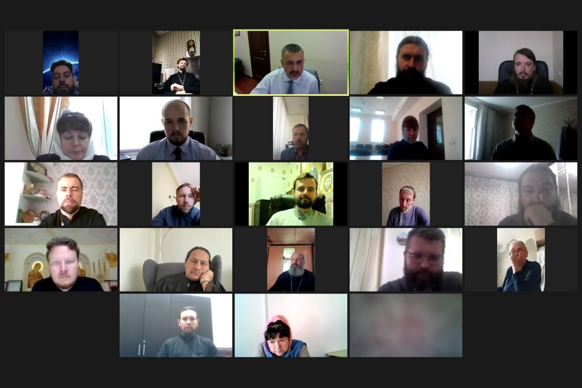 В.Р. Легойда провел онлайн-совещание с представителями епархий Приволжского федерального округа