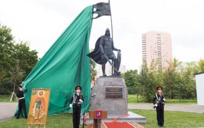 В.Р. Легойда принял участие в открытии памятника святому благоверному князю Александру Невскому
