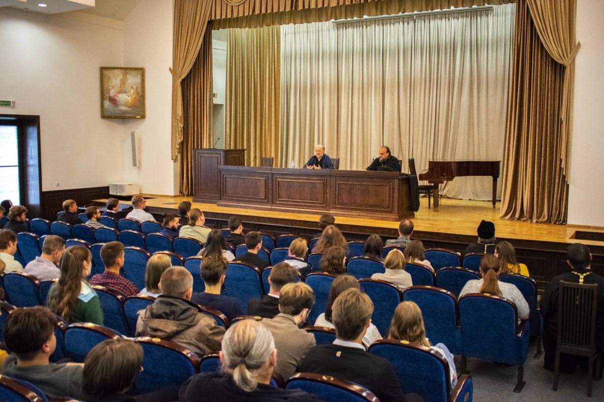 А.В. Щипков выступил с лекцией в Минской духовной академии