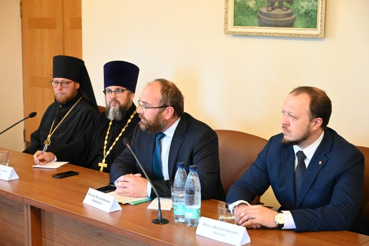 Представители Отдела приняли участие во встрече с делегацией религиозных и государственных деятелей Киргизии