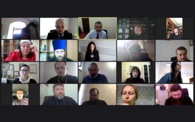 Состоялась онлайн-совещание В.Р. Легойды с представителями епархий Южного и Северо-Кавказского федеральных округов