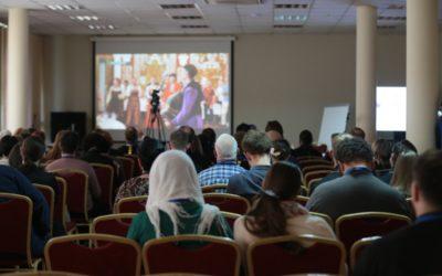 Мастер-класс по телевизионной новостной журналистике прошел на фестивале «Вера и слово»