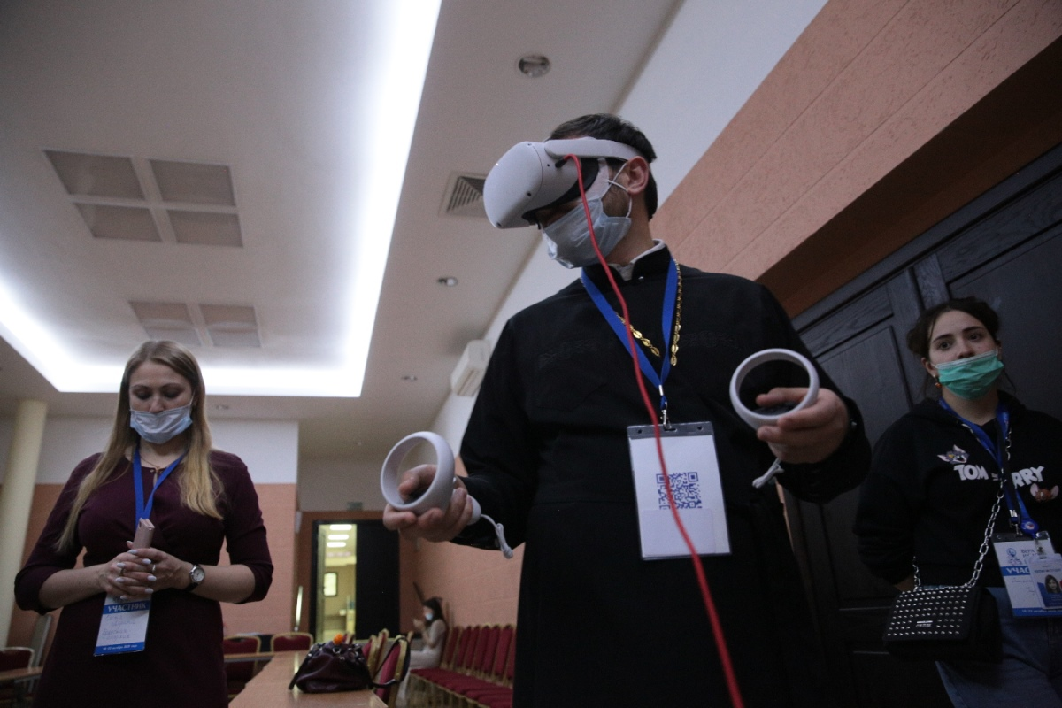 Показ VR–детектива «Нюрнберг. VRдикт народов» прошел на фестивале «Вера и слово»